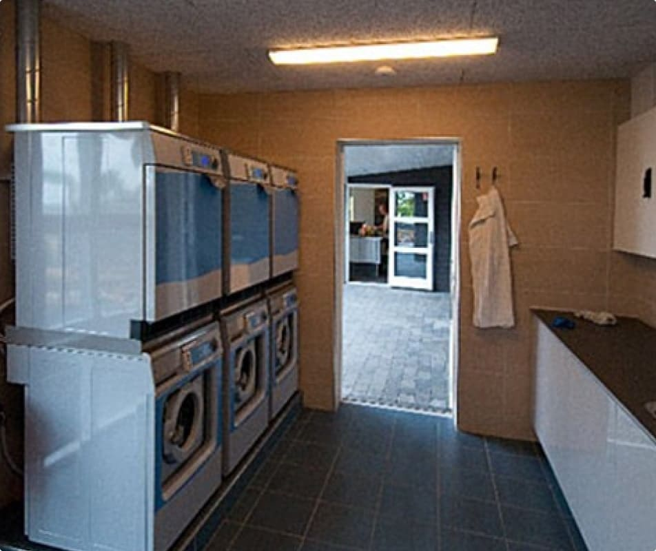 Camping faciliteter - vaskemaskiner