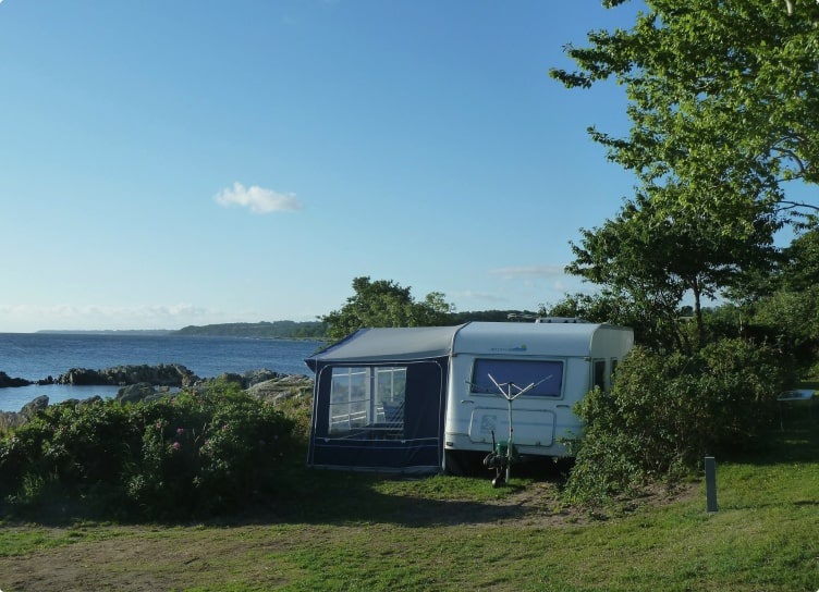 camping bornholm mit Meerblick
