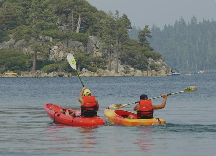 kayak på Bornholm - Sannes Familiecamping