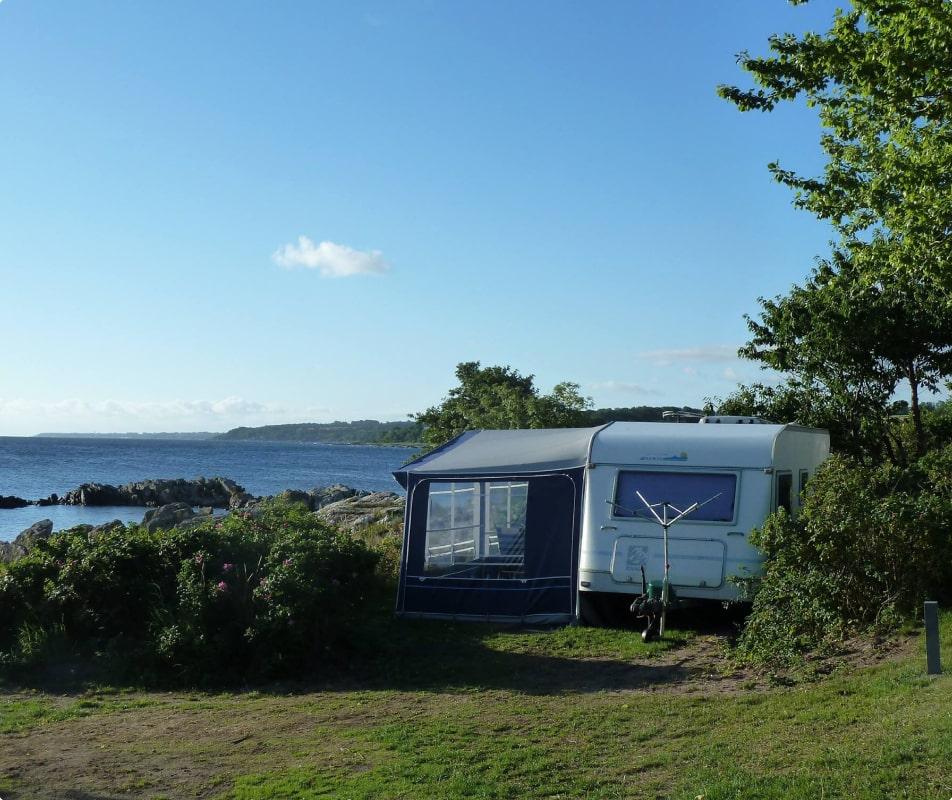 Camping i egen campingvogn
