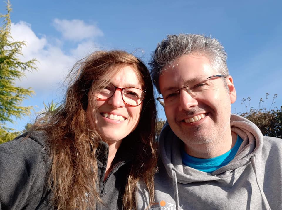 Lykke & Henrik som driver Bornholms Adventure Minigolf