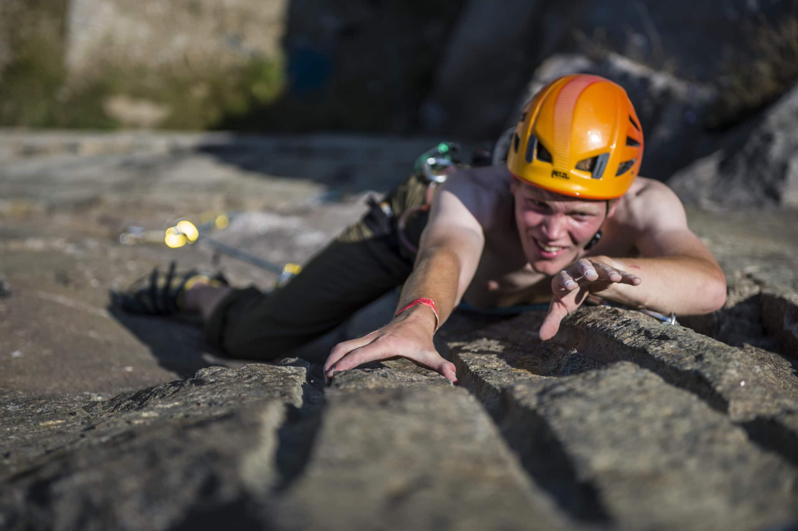 Prøv kræfter med klatring på Bornholm
