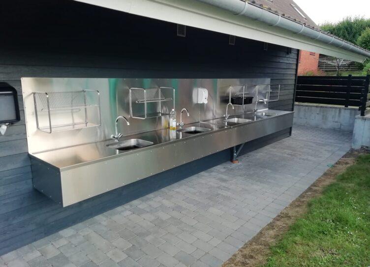 Udendørs køkken