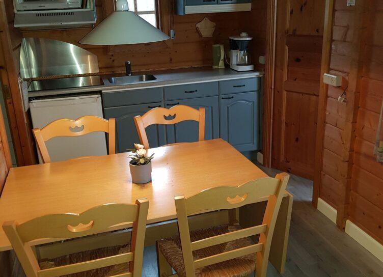 Køkken i campinghytte 25 kvm