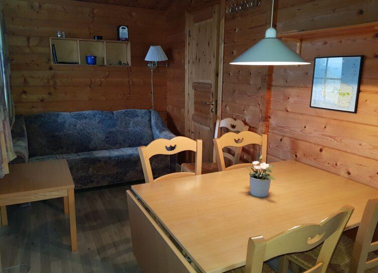 Stue i campinghytte 25 kvm