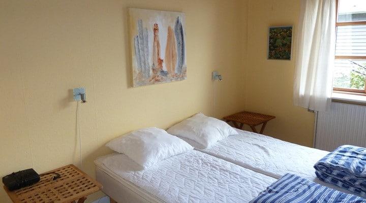 Soveværelse Feriehus Bornholm