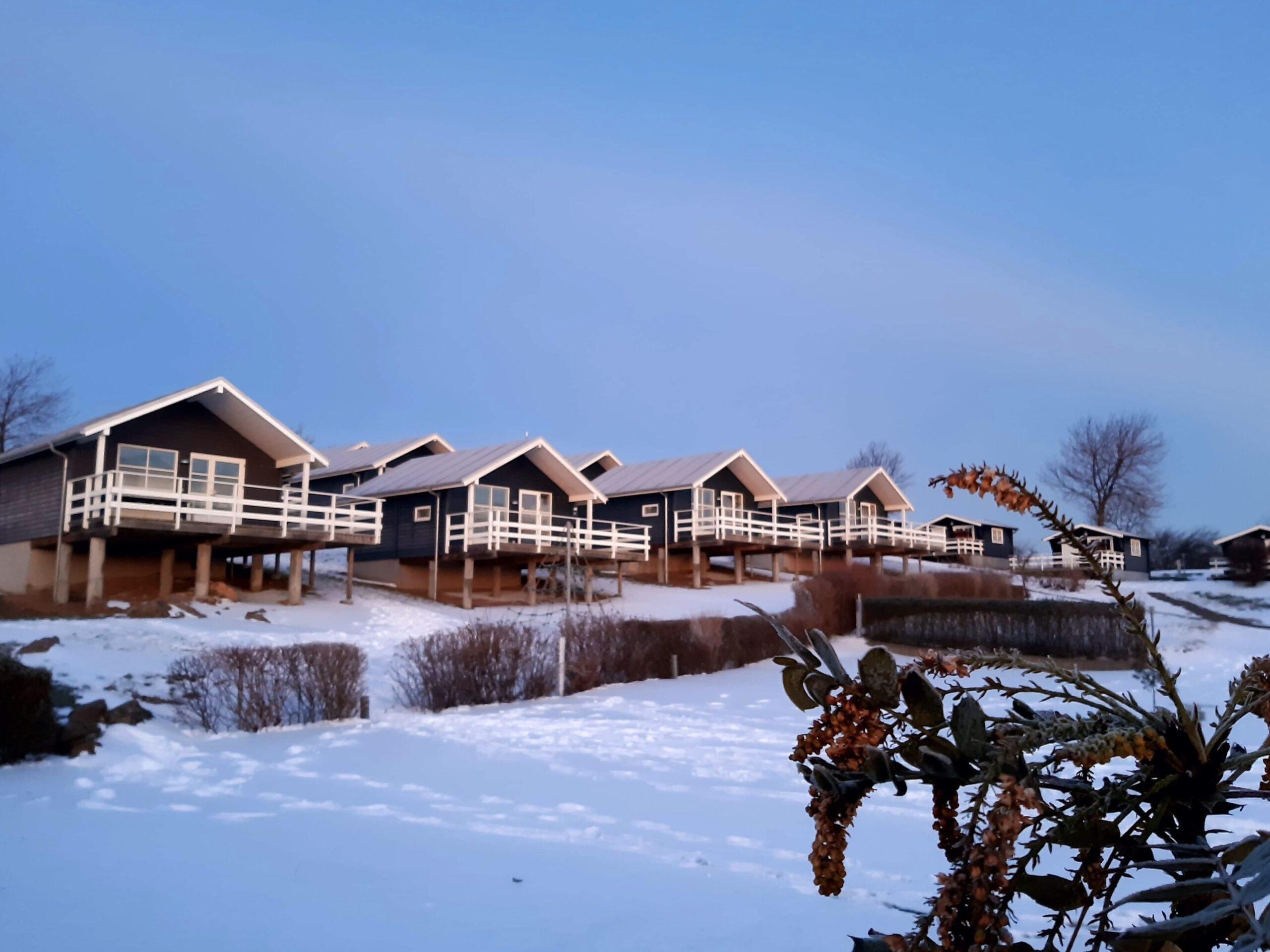 Vintercamping Bornholm i Luksushytte
